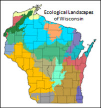 Map Of Ecological Landscapes