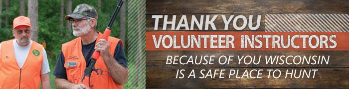 Thank you volunteer instructors