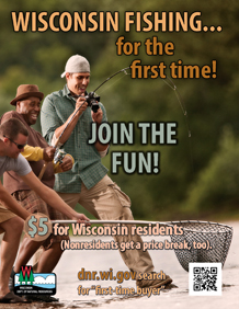 First time buyer page wisconsin dnr for Wisconsin dnr fishing license online