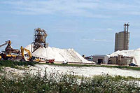 Industrial sand mine