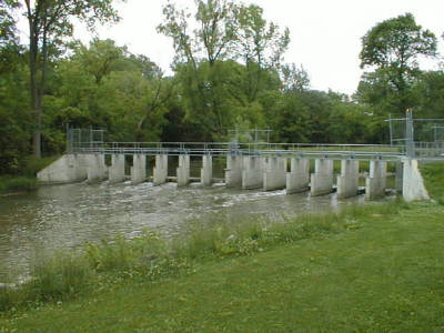 Root River Steelhead facility dam