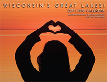 Cover of Wisconsin's Great Lakes 2017-18 Calendar