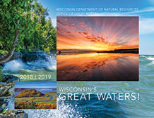 Cover of Wisconsin's Great Waters 2018-19 Calendar
