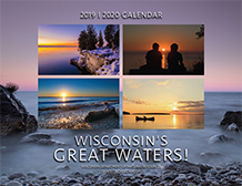 Cover of Wisconsin's Great Waters 2019-2020 Calendar