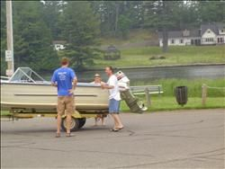 Volunteer Boat Inspectors, Vilas County, Wisconsin