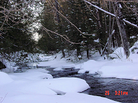 Little Wolf River in winter