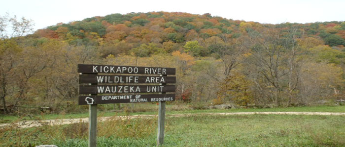Kickapoo River Wildlife Area - Wauzeka Unit