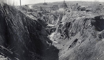 The historic Florence County mine.