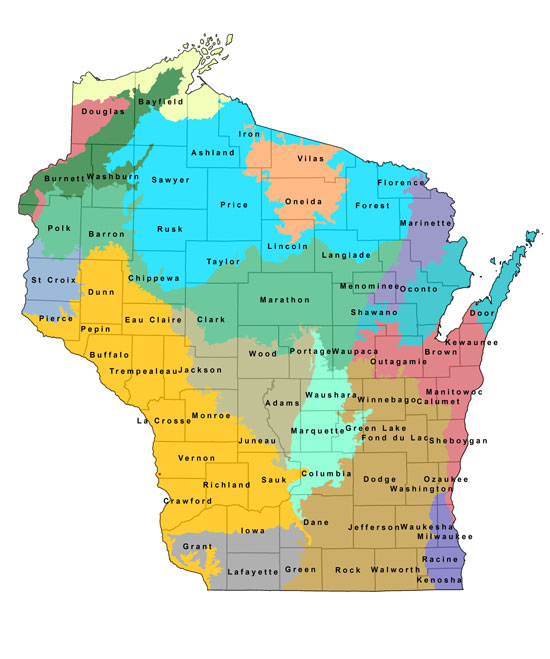 Natural heritage inventory data access wisconsin dnr for Wisconsin fishing license price
