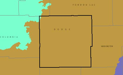 Dodge County graphic