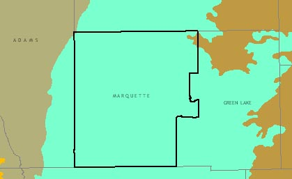 Marquette County graphic