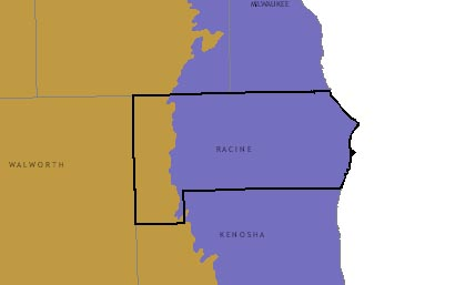 Racine County graphic