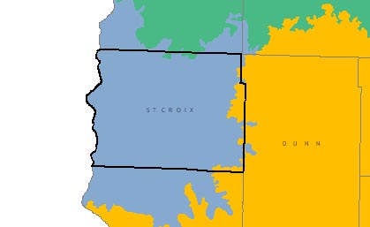 St Croix County graphic