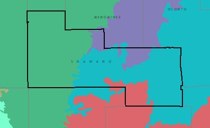 Shawano County graphic