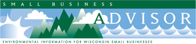 Small Business Advisor newsletter masthead