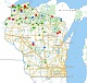Interactive statewide depredation map