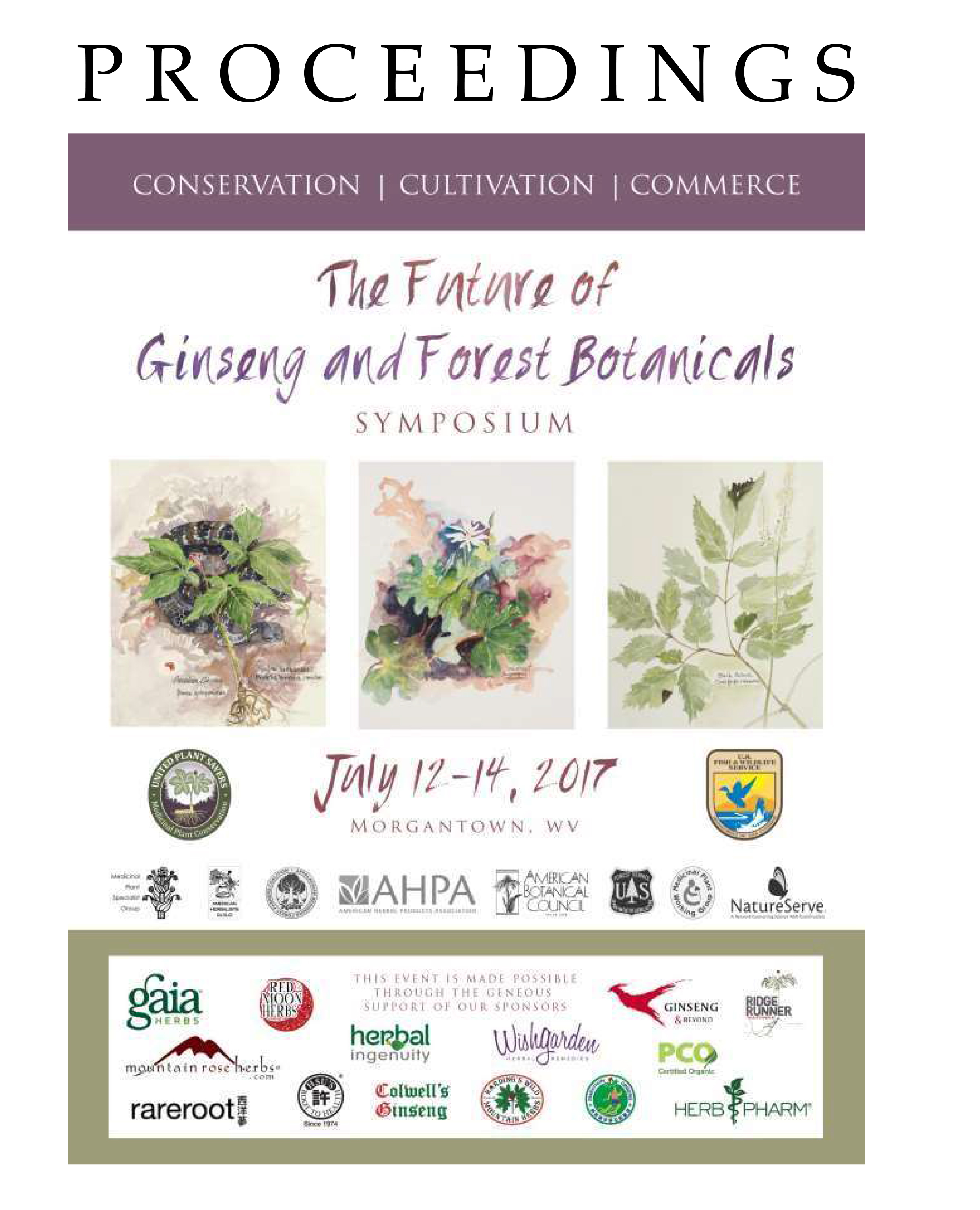 Future of ginseng symposium link