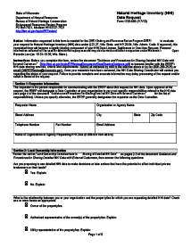 NHI Data Request Form