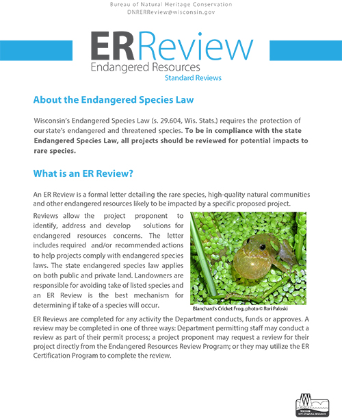 Thumbnail of ER Review flyer