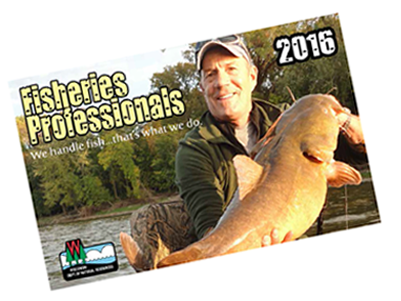 Fisheries professionals 2016 wisconsin dnr for Wisconsin dnr fishing report