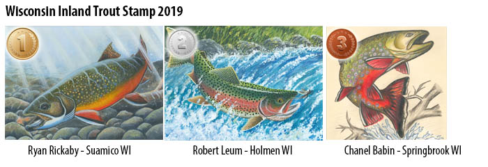 Inland trout stamp finalists