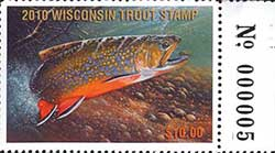 Inland Trout Stamp 2010
