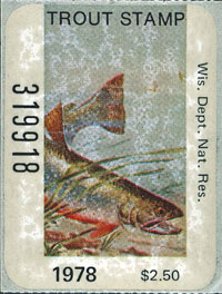 First inland trout stamp
