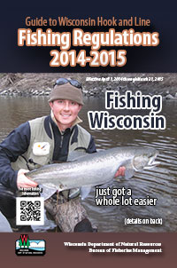 Hook and line fishing regulations wisconsin dnr for Wisconsin dnr fishing report