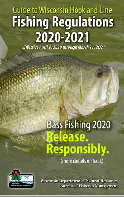 2015-2016 FISHING REGULATIONS 2015 TO MARCH 31 WISCONSIN APRIL 1 2016