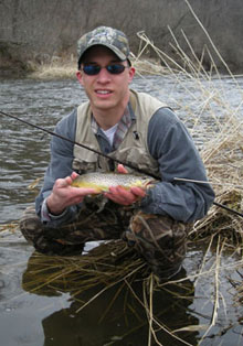 Fishing wisconsin early trout season wisconsin dnr for Wisconsin dnr fishing report