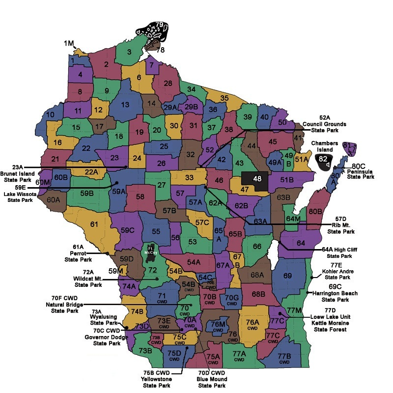 Wisconsin department of natural resources deer hunting for Wisconsin dnr fishing regulations