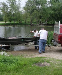 launching a boat