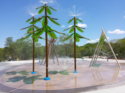 new splashpad