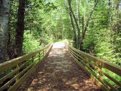 White Cedar Trail improvements