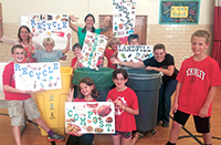McKinley Elementary recycling program