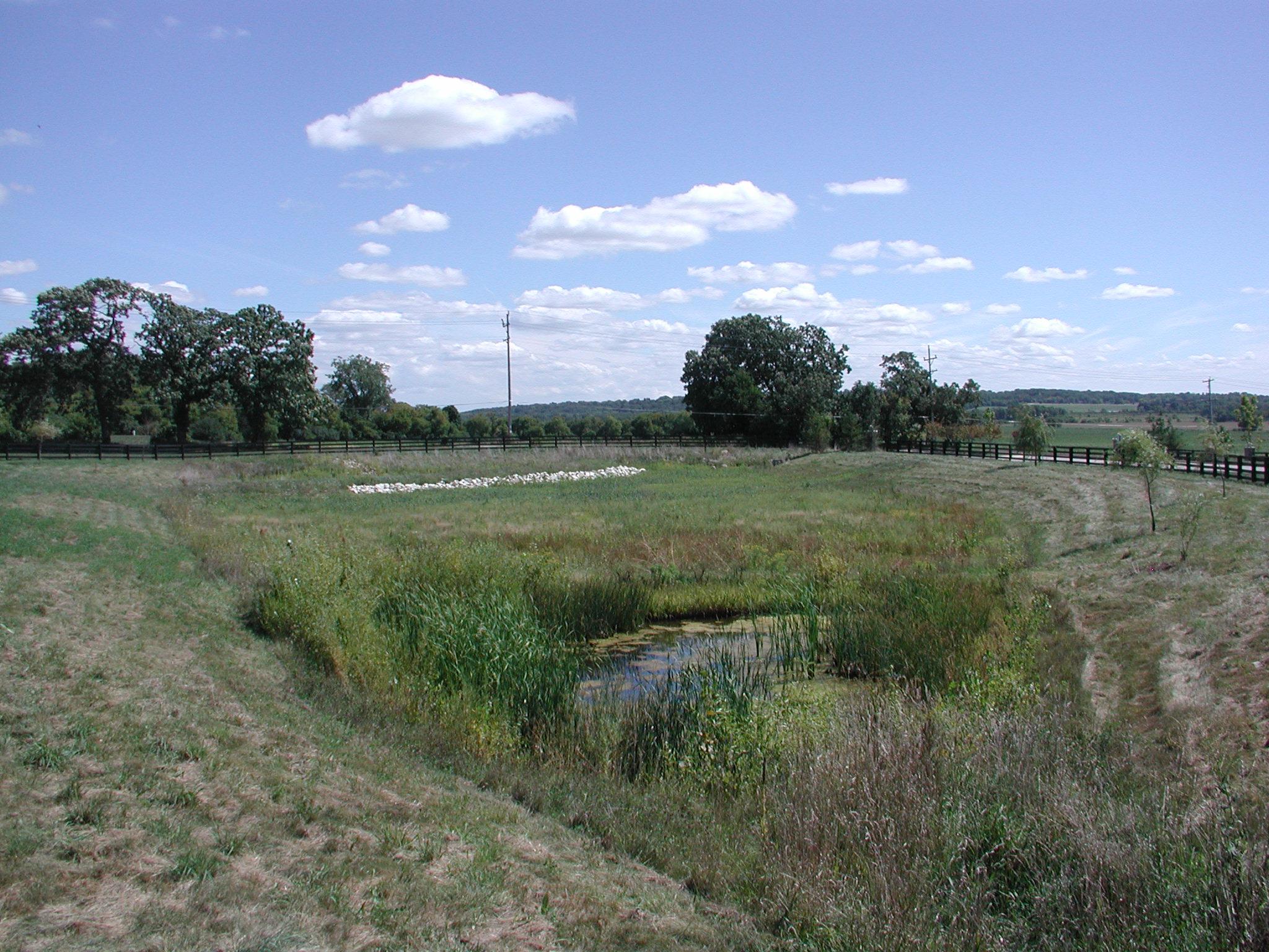 Stormwater Management Basin : Photos storm water runoff wisconsin dnr