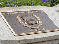 The Wisconsin Law Enforcement Memorial.