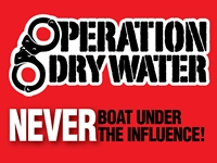 Operation Dry Water is a national safety weekend, launched in 2009.