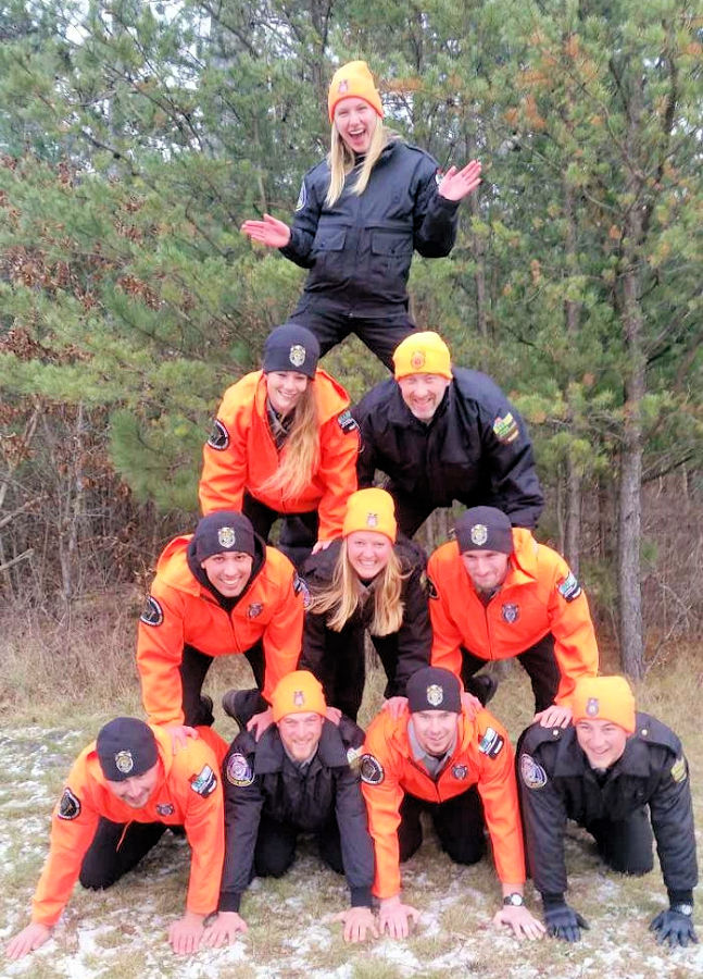Recruit Tree formation - Photo credit: WDNR