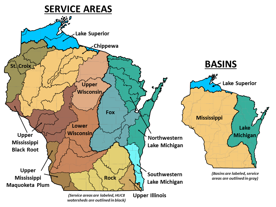 ILF service areas