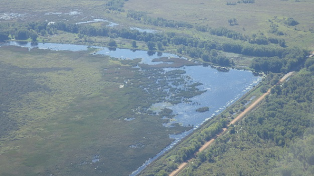 Aerial Image of Mead Wildlife Area