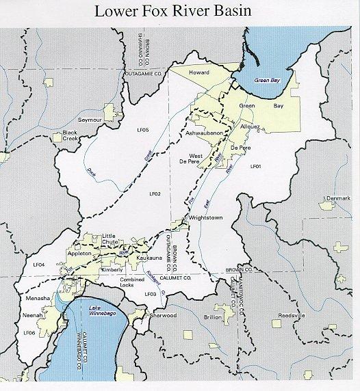 Lower Fox River Basin  WDNR